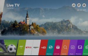 webOS 3.5 snadné a zábavné použití