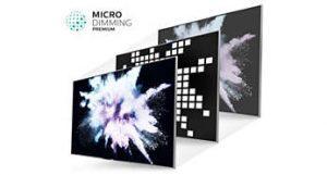 Oceněná funkce Micro Dimming Premium pro vynikající kontrast