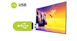 USB pro přehrávání multimédií