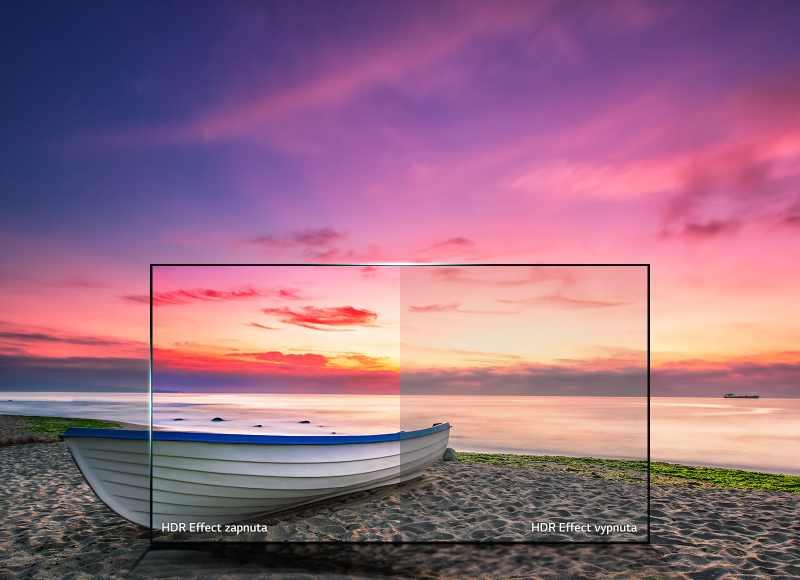 Zvýšení kontrastu nabízí obraz jako HDR