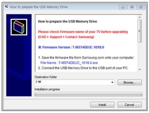 Jak aktualizovat televizi Samsung pomocí USB 1