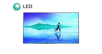LED televizor pro obraz s neuvěřitelným kontrastem
