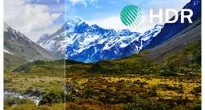 Technologie HDR Plus. Zlepšení kontrastu, barev i ostrosti