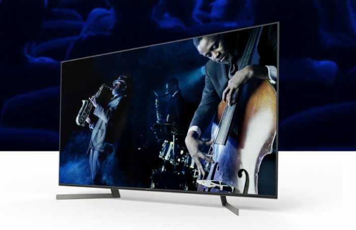Televize Sony KD-65XG8577 stříbrná 1