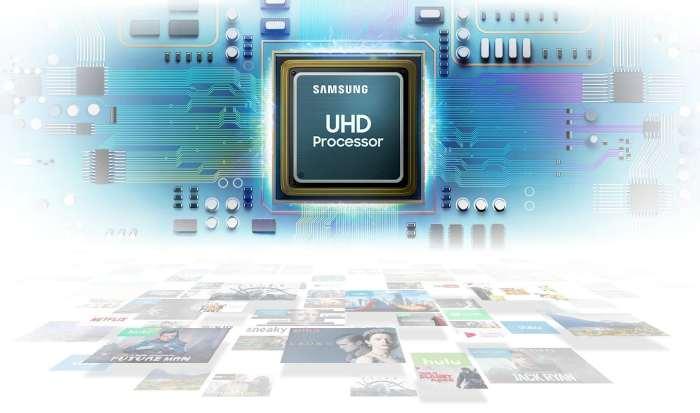 Televize Samsung UE82RU8002 šedá 2