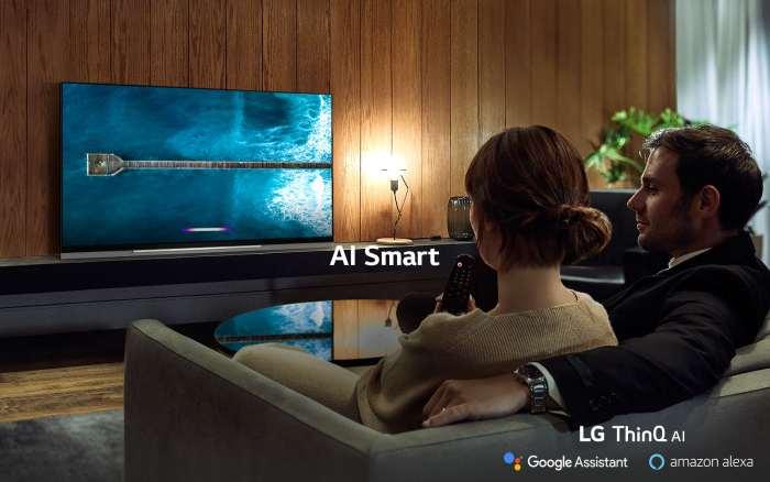 Televize LG OLED65E9 černá 1