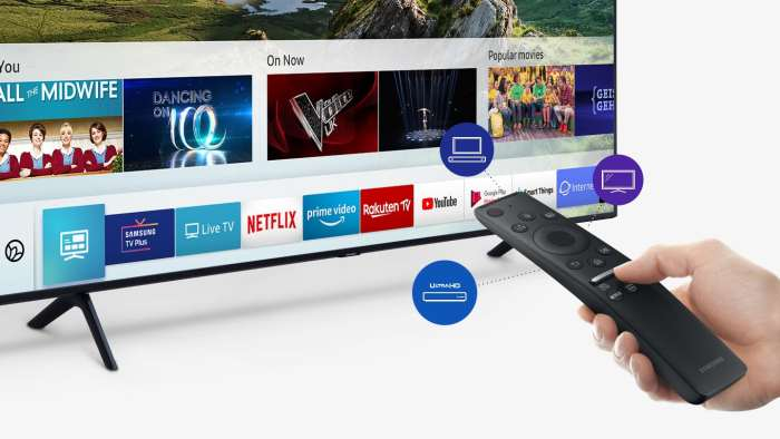 Televize Samsung QE55Q60R černá 4