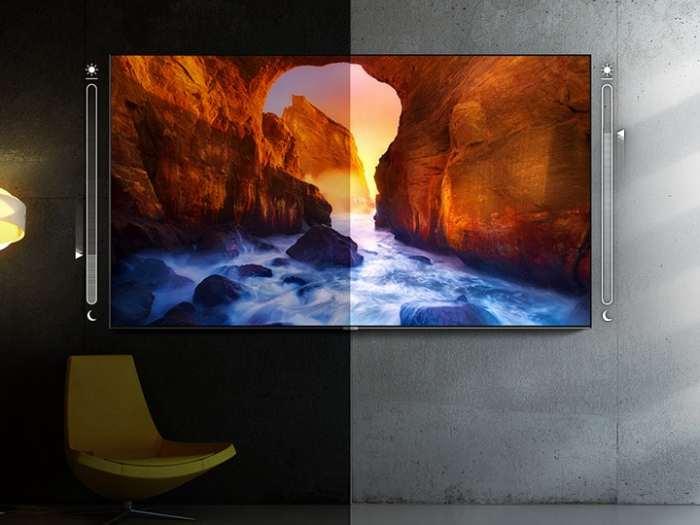 Televize Samsung QE55Q60R černá 2
