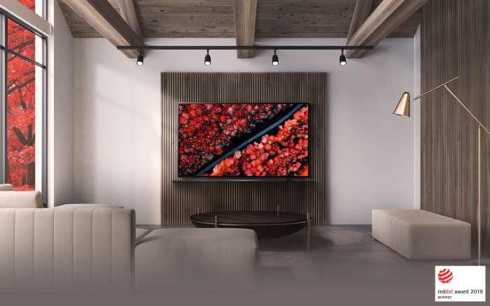Televize LG OLED77C9 titanium 5
