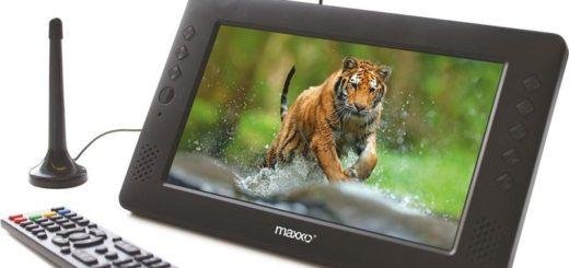 Maxxo mini TV HD – T2 HEVC/H.265 černý