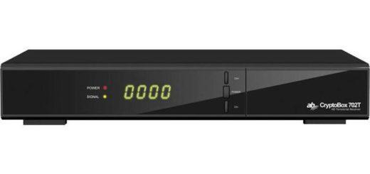 AB Cryptobox 702T HD černý