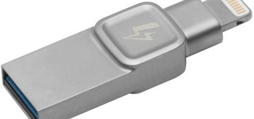Kingston DataTraveler Bolt Duo 64GB pro Apple stříbrný