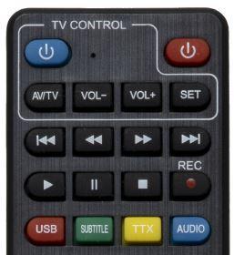 Set-top box EVOLVEO Alpha T2 HD DVB-T2 H.265/HEVC rekordér 1
