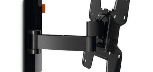 """Držák TV Vogel's W52060 polohovatelný, pro úhlopříčky 19"""" až 37"""", nosnost 15 kg černý 3"""
