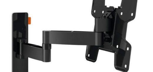 """Držák TV Vogel's W53060 polohovatelný, pro úhlopříčky 19"""" až 37"""", nosnost 15 kg černý 4"""