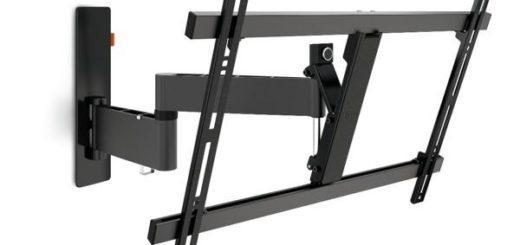 """Držák TV Vogel's W53080 polohovatelný, pro úhlopříčky 40"""" až 65"""", nosnost 30 kg černý 4"""