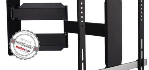 """Držák TV GoGEN L-Alu polohovatelný, pro úhlopříčky 32"""" až 55"""", nosnost 25 kg černý (GOGDRZAKTURNL) 2"""