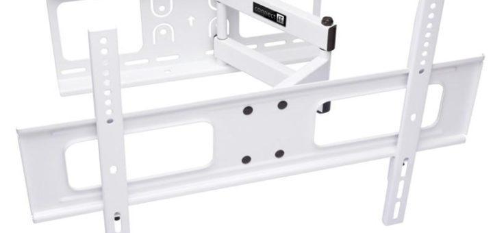 """Držák TV Connect IT polohovatelný, pro úhlopříčky 37"""" až 70"""", nosnost 50 kg bílý (CI-787) 37"""