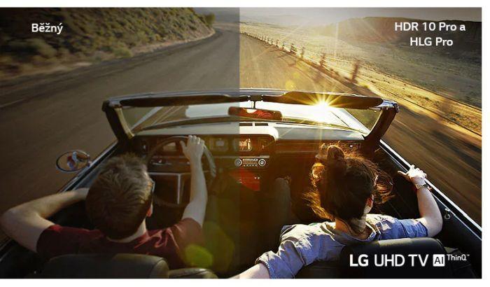 LG UHD LED televize 65UN7300 3