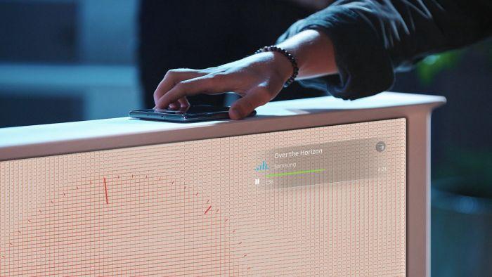 Samsung QLED televize QE55LS01TB 2