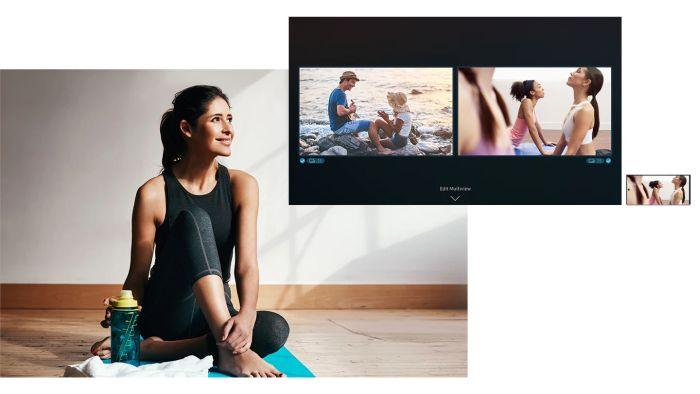 Samsung QLED televize QE55LS01TB 7