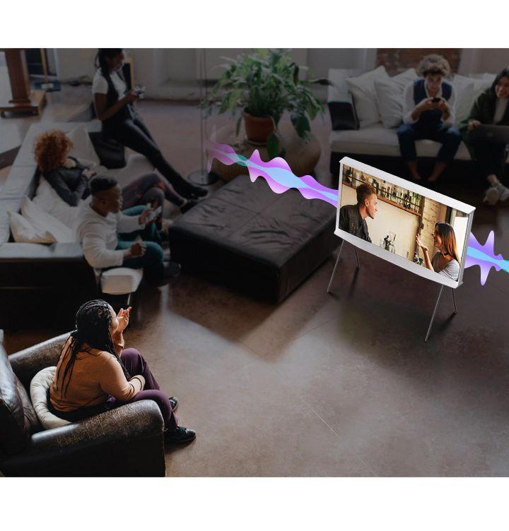 Samsung QLED televize QE55LS01TB 8